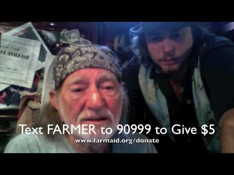 Willie Nelson & Lukas Nelson Talk About Farm Aid 2009 Presented by Horizon Organic