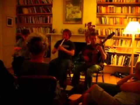 Choonz -Acoustic gig at Sarah`s - Hommage a Nintendo - Irish music