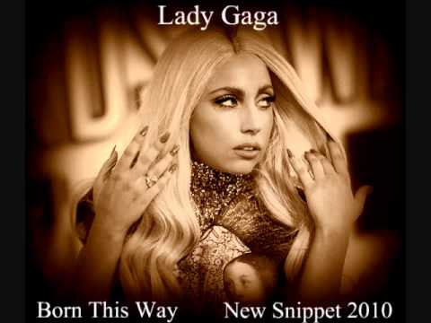 Lady Gaga - Born This Way (Live Snippet 2010)