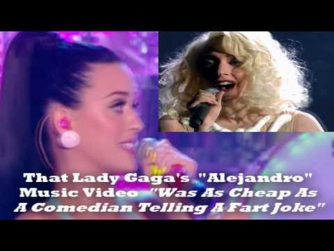 Katy Perry ET VS Lady Gaga Judas Lyrics Live Firework Miley Cyrus Every Rose Has It`s Thorn Grammys