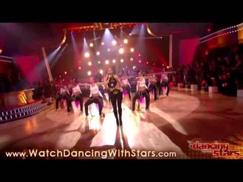 [HD] Shakira performance on DWTS part 2/3 - October 13, 2009