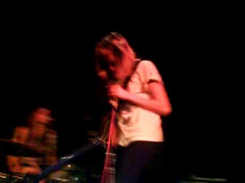Vivian Girls at Lexington. This is the end.