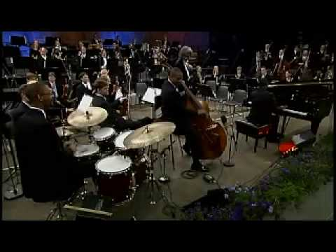Gershwin Rhapsody in Blue by Ozawa & Marcus Roberts Trio 3-1