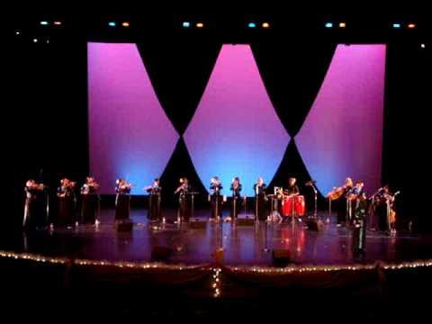 "Mariachi Divas ""Malaguena"" Tucson, Arizona 9-6-08"