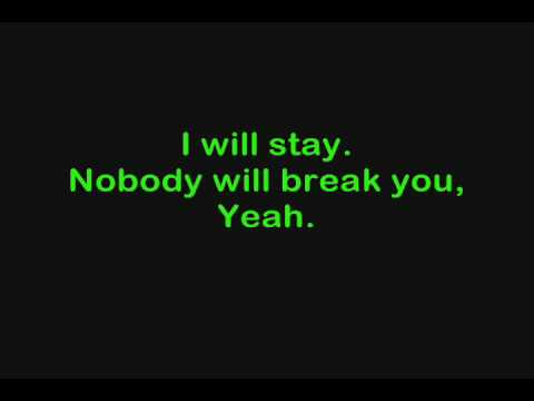 Marianas Trench - Beside You w/on-screen lyrics