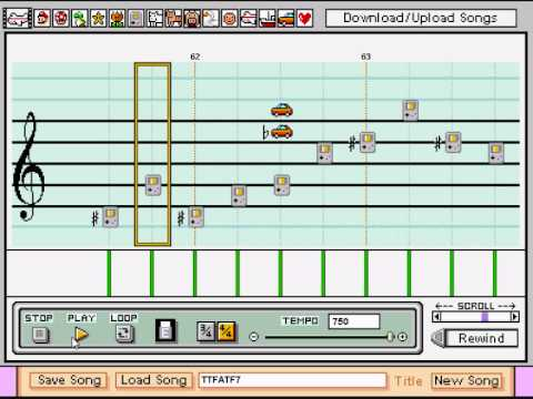 Mario Paint - Through the Fire and Flames - Dragonforce