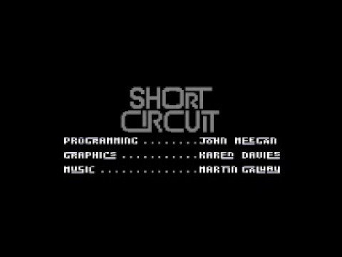 Short Circuit Commodore 64 Title Theme