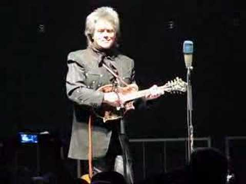 Marty Stuart plays an excellent mandolin