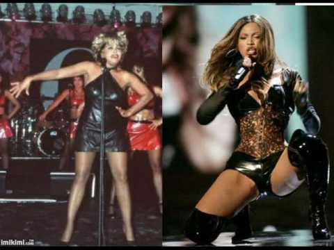 Tina Turner + Beyonce (PROUD MARY)