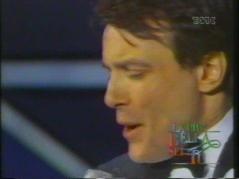 Massimo Ranieri Perdere L`Amore(live San Remo 1988)