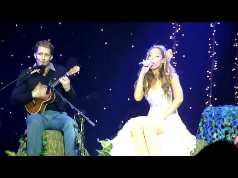 Leona Lewis and Matthew Morrison - Somewhere Over The Rainbow - London O2 16/06/10