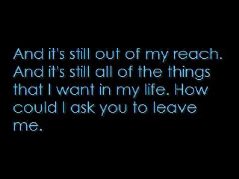 Kids In Love - Mayday Parade (with lyrics)