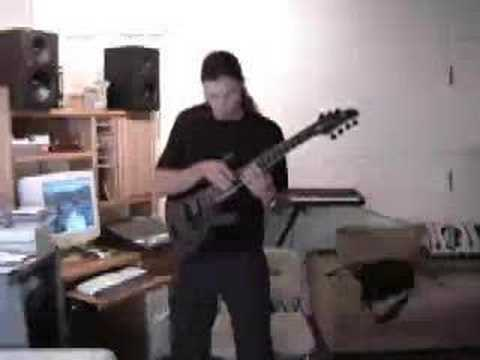 Chris Broderick - Mozart Piece (8 finger tapping)