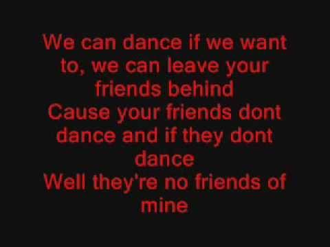 Men Without Hats - Safety Dance - Lyrics