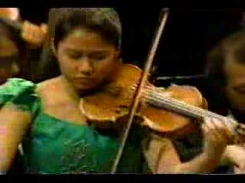 Sarah Chang: Mendelssohn Violin Concerto Mvt.1 Part2