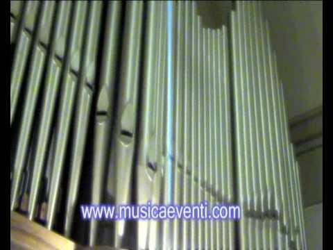 Marcia Nuziale Mendelssohn Organo a canne Endriu Passavanti www.musicaeventi.com