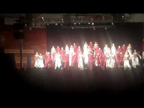 "Mt. Zion High School ""Swingsations"" 2010-Second Number-Fantasy Medley"