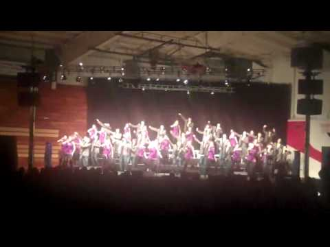 "Mt. Zion High School ""Swingsations"" 2010-Closer-Lovestruck"