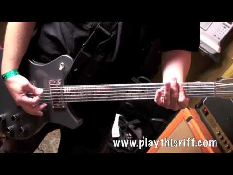 """Steve Brooks from TORCHE Guitar Lesson """"Tar Pit Carnivore"""""""