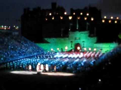 Edinburgh Military Tattoo 2008 Massed bands / pipes and drums