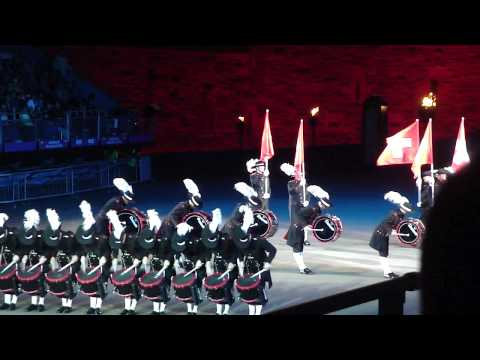 Edinburgh Military Tattoo 2009 - Top Secret Drums