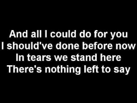 Mint Condition - Nothing Left to Say (Lyrics)