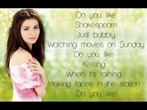 Miranda Cosgrove - Shakespeare (+lyrics)