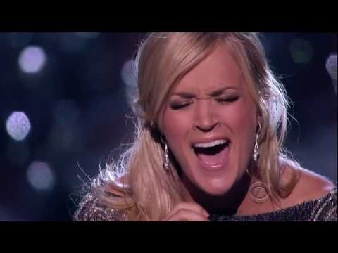 [HD] Carrie Underwood Ft. Vince Gill - How Great Thou Art @ ACM Girls` Night Out 2011