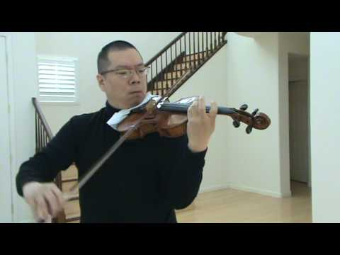 Youtube Symphony AUDITION VIOLIN Practice FASTER (for fun)! Violin Bach solo Sonata I mvt 4 - PRESTO