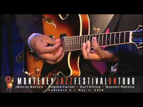 "Monterey Jazz Festival on Tour! Russell Malone & Kenny Barron, ""Road Song"""