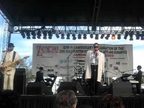 Morris Day & The Time - Orlando, Florida - Annual Zora Neale Hurston Festival - January 2009