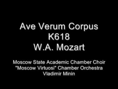 Mozart - Ave Verum Corpus - Moscow State Chamber Choir and Orchestra