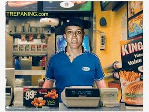 Britney Spears Burger King Commercial