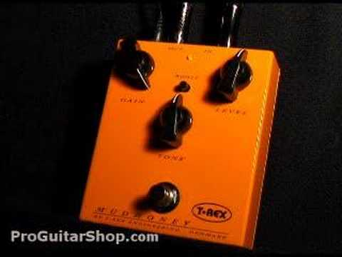 T-Rex Mudhoney Distortion Overdrive Pedal