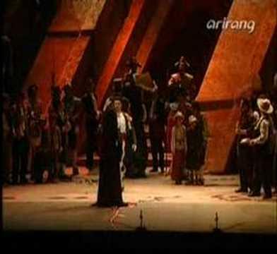 """Carmen Act IV """"Si tu m`aimes"""" & """"Carmen, un bon consei"""""""