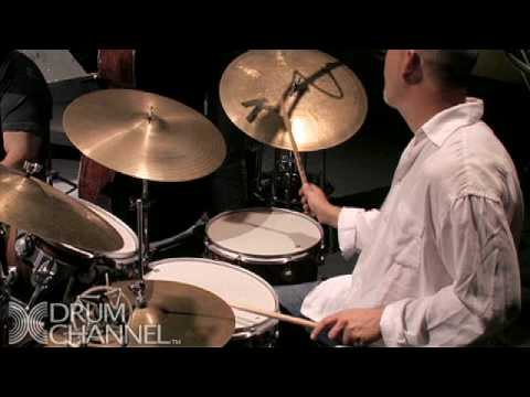 Gary Novak and Jimmy Cobb Jazz Solo - Drum Channel