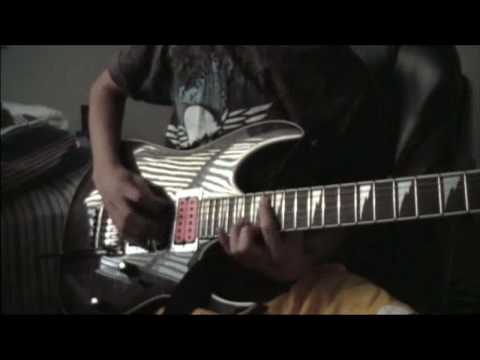 "DiMarzio Evolution Test (playing ""I`m Alright by Neil Zaza"")"