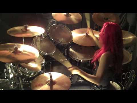 """Lux Drummerette - """"Skullcrusher"""" by Sacred Storm"""