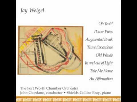 """JAY WEIGEL: """"Power Press"""""""