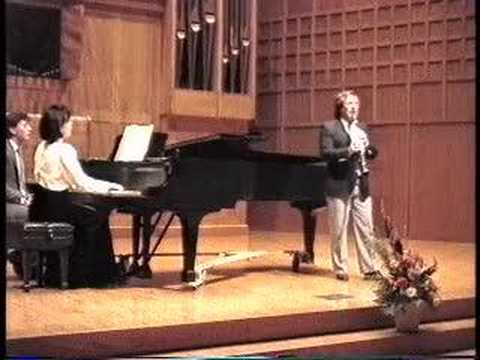 """Claude Debussy`s """"Rhapsodie For Clarinet and Piano"""""""