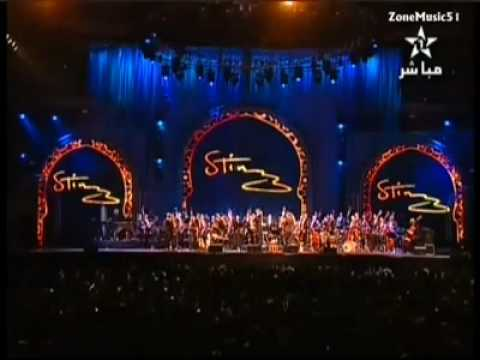 Sting LIVE Concert Englishman in New York - Morocco Philharmonic Orchestra Mawazine 2010-