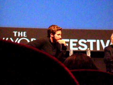 Jake Gyllenhaal at the New Yorker festival 10/2/10