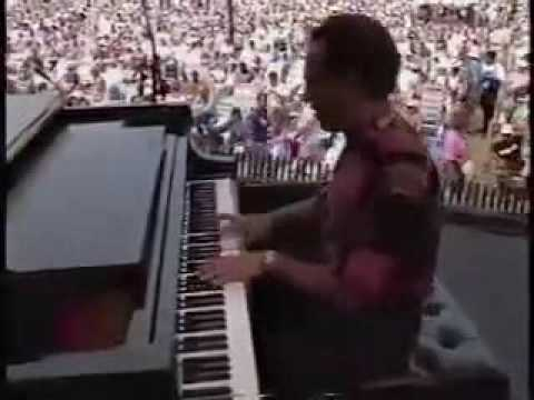 "Michel Camilo Quintet performing ""On Fire"" at Newport Jazz Festival 1991"