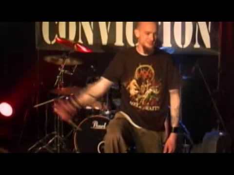 No Conviction (MARK OF CAIN) live @ the rave