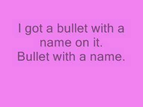 Nonpoint-bullet with a name