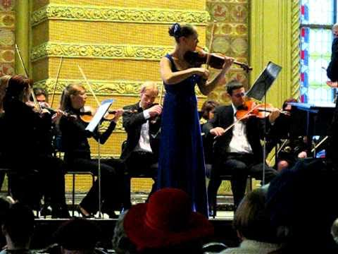 Polina Chaika plays Vivaldi Winter
