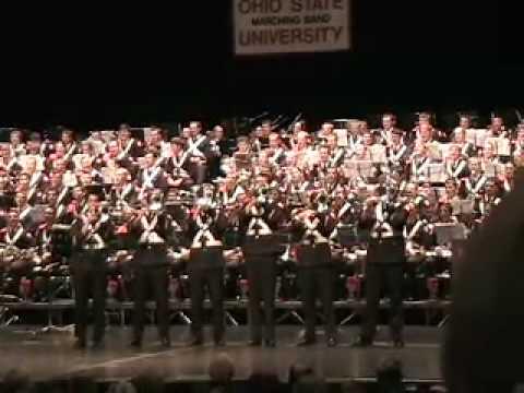 2008 Ohio State University Marching Band Trombone Cheers - Hey Jude