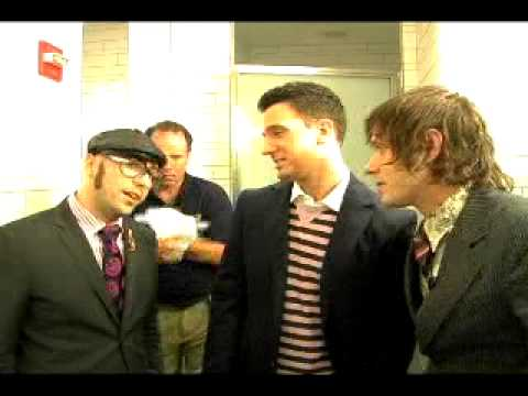 OK GO get VMA advice from JC Chasez... in the crapper