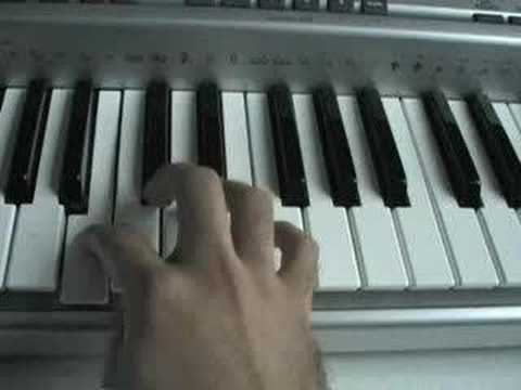 Oldboy Melody on Piano Keyboard