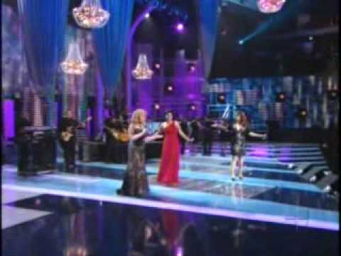 VIKKI CARR OLGA TANON JENNI RIVERA - COSAS DEL AMOR (NOV. 2008)